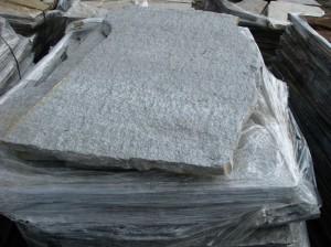 Płyta kamienna z gnejsu szara
