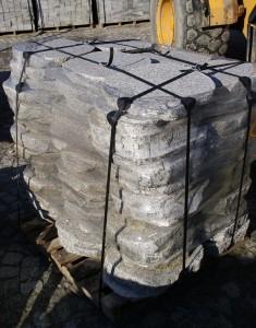 Płyta granitowa na chodniki i ścieżki ogrodowe - paleta