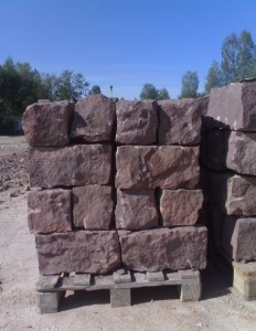 Piaskowiec - kamien rzedowy