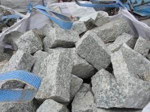 kamień murowy granit szary łupany 7x7x10-20