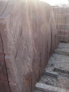 Oblader - piaskowiec w kolorze miedzianym (czerwonym)