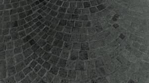 Czarna kostka granitowa - Gabro