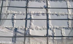 Płyty marmurowe cięto-łupane białe 2