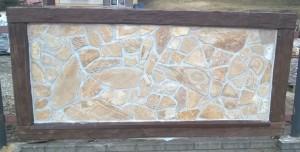 Panel ogrodzeniowy z gnejsu elewacyjnego