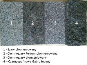 Granity ciemne - odcienie 2