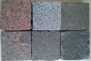 Kolory granitu - zestawienie