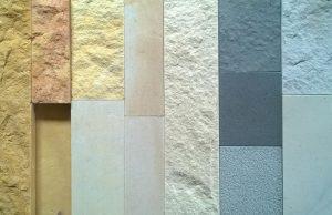 Kolory piaskowca - zestawienie